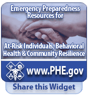 Emergency Preparedness Resources for at risk individuals behavioral health and community resilience